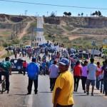 Jornaleros de San Quintín demandan mejoras salariales