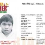 El adolescente Miguel Ángel salió de su domicilio y ya no regresó