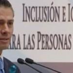 Promulga Peña Nieto Ley para proteger a personas con autismo