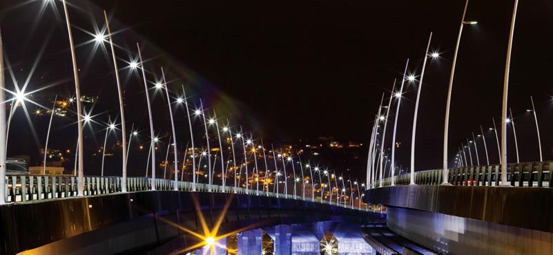 Puentes iluminados