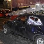 A golpes y balazos se enfrentan PRI y PRD en Cuajimalpa