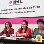 Firman partidos acuerdo para cumplir con paridad en elecciones