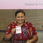 Rigoberta Menchú será visitante extranjera en elecciones 2015