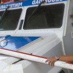 Policías Penitenciarios rompen pluma en caseta de cobro para no pagar peaje