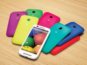 Smartphone Moto E de