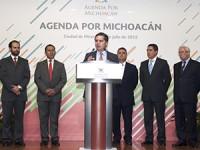 Ratifica Aureoles en SEGOB Agenda por Michoacán