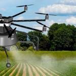 Desarrollan drones para fumigar y fertilizar campo mexicano