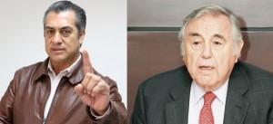 El Bronco y Eugenio Clariond