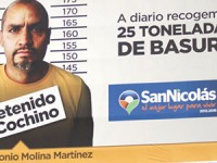 Exhiben a personas que tiran basura en la vía pública de Nuevo León