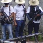 Surge presunto grupo de autodefensa con poderoso arsenal en Apatzingán