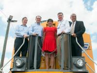 Inauguran puente ferroviario entre México y EU
