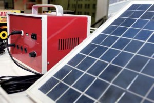 Celda solar y bateria