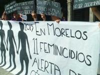 Emiten alerta de género en 8 municipios de Morelos