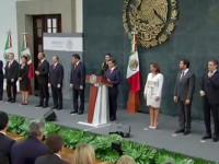 Peña Nieto toma protesta a nuevos integrantes de su Gabinete
