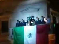 Alcalde de Parras, Coahuila, da el grito en aparente estado de ebriedad