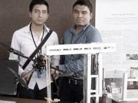 Estudiantes de la BUAP desarrollan un robot limpiador de playa