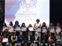 Otorgan Medalla Omecíhuatl a 17 mujeres que construyen igualdad de género