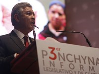 Rinde Penchyna Tercer Informe Legislativo