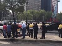 Atropellan a otro ciclista en Reforma