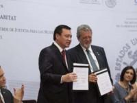 Firman ONU y Segob convenio contra la violencia de género