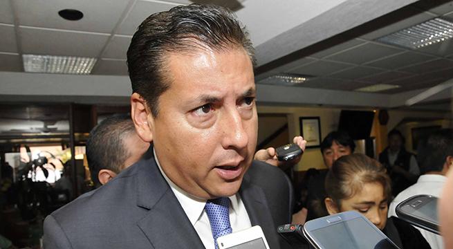 Xalapa, Ver.- Alberto Silva Ramos, titular de la Coordinación de Comunicación Social de Gobierno del estado. FOTO: MIGUEL ANGEL CARMONA/FOTOVER.