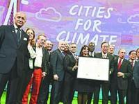 Alcaldes del mundo acuerdan meta de 100% de energías renovables para 2050