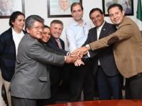 Perredistas pactan unidad para designar candidato en Oaxaca