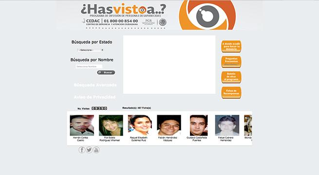 Aplicacion-Desaparecidos-PGR