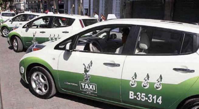Inviables_Taxis_Electricos_DF_Mancera_Alcaldes_de_Mexico_Diciembre_2015