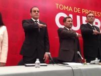 Cuauhtémoc Blanco rinde protesta como alcalde entre críticas