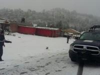 Galería: Nieve sorprende al Valle de México