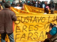 Alcaldes de Puebla dan informes entre manifestaciones, amenazas y reclamos