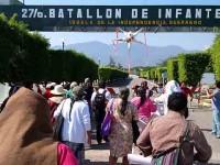 Frenan encuentro de Comisión Ayotzinapa con militares de Iguala