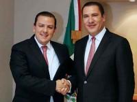 Rafael Moreno Valle se reúne con el subsecretario de SHCP