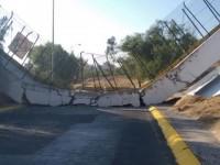 Inician peritaje de todos los puentes en Cuautitlán Izcalli tras caída de paso peatonal