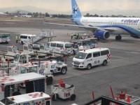 Habrá transporte especial en el AICM por cierres viales ante llegada del Papa a México