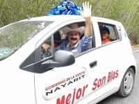 """Alcalde de San Blas rifa autos para """"impulsar"""" el turismo"""