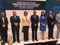 Celebran en Puebla la segunda edición del concurso Proyecta tu Ciudad