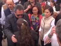 Gobernador de Aguascalientes regaña a secretario delante de Rosario Robles