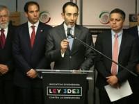 Recibe Senado iniciativa ciudadana Ley 3de3 con respaldo de 291,000 firmas