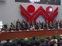 Clausura de la 112 Sesión Ordinaria de la Asamblea Infonavit