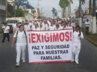 Gobierno de Veracruz manda 300 policías a Minatitlán tras protestas por secuestros