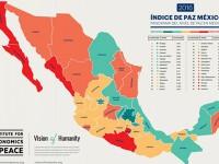 """Los estados """"más pacíficos"""" según el Índice de Paz 2016"""