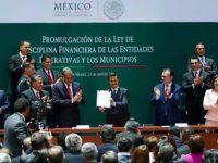 Promulga Peña Nieto Ley de Disciplina Financiera para estados y municipios
