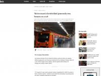Metro usará electricidad generada con basura en 2018