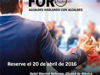 Foro Alcaldes: espacio propicio para el diálogo entre servidores públicos