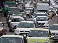 Contingencia ambiental, deficiente movilidad