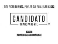 Sólo 4 por ciento de candidatos han presentado su 3de3