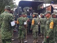 Ejército apoya zonas afectadas por lluvia en Iztapalapa