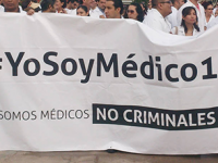 Médicos preparan paro nacional el 22 de junio
